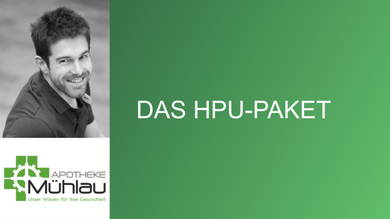 Das HPU-Paket – Hilfe bei der Stoffwechselstörung Hämopyrrollaktamurie
