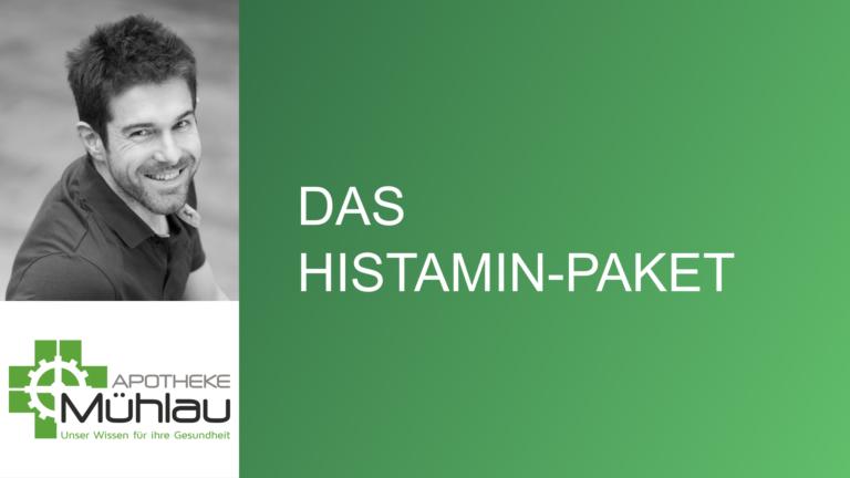 Das Histamin-Paket – Hilfe bei Histamin-Intoleranz