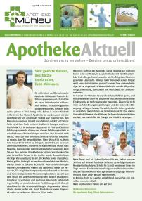 Kundenzeitung Herbst 2016 Apotheke Mühlau