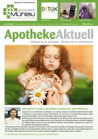 Kundenzeitung Frühling 2017 Apotheke Mühlau