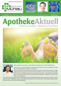 Kundenzeitung Frühling 2018 Apotheke Mühlau