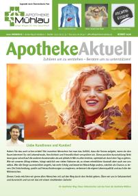 Kundenzeitung Herbst 2018 Apotheke Mühlau