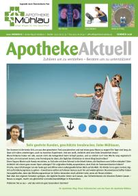 Kundenzeitung Sommer 2018 Apotheke Mühlau