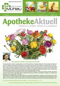 Kundenzeitung Frühling 2019 Apotheke Mühlau